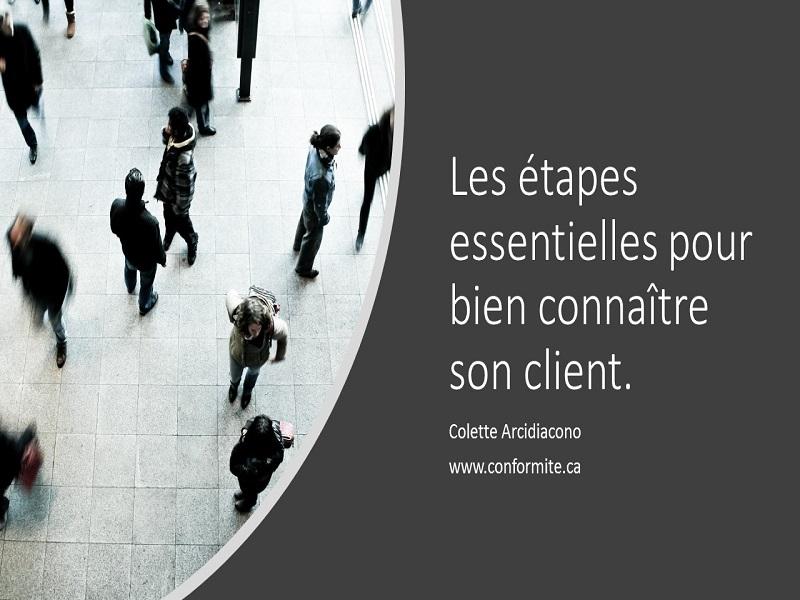 Les étapes essentielles pour bien connaitre son client