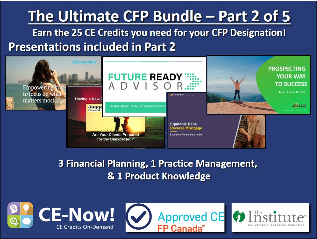 The Ultimate CFP Bundle - Part 2 of 5