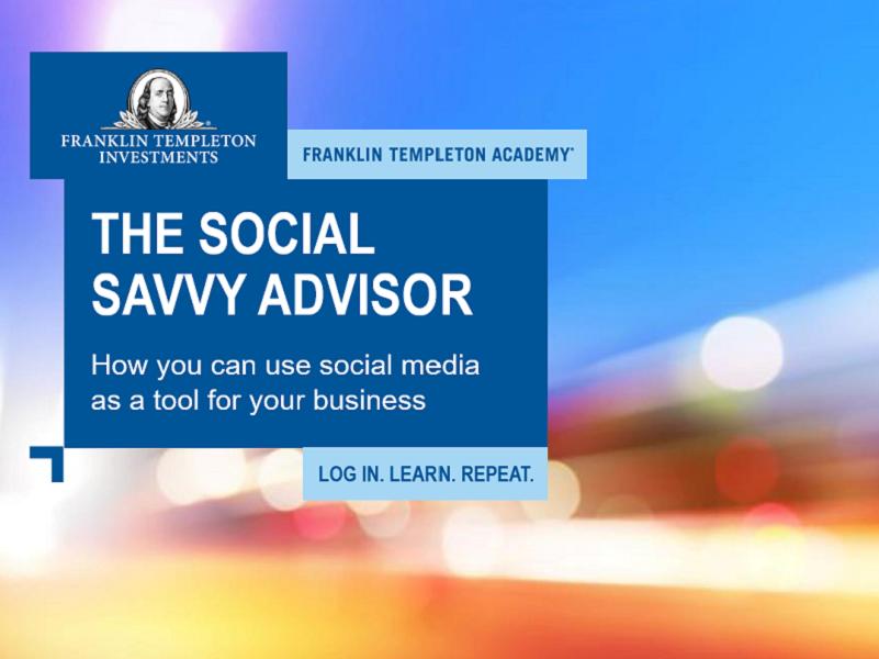 The Social Savvy Advisor